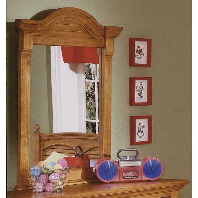 Cottage Traditions Vertical Mirror (Sandstone)