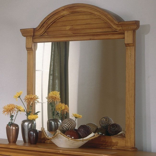 Cottage Traditions Dressing Mirror (Sandstone)