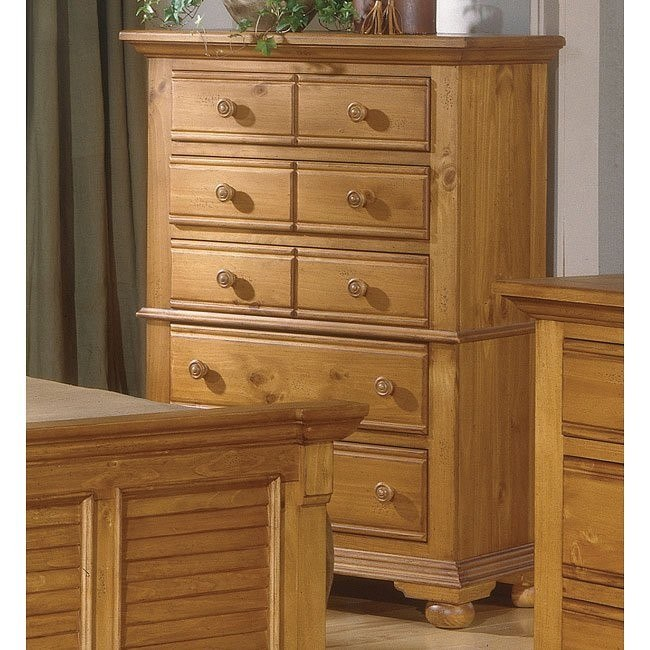 Cottage Traditions 5 Drawer Chest (Sandstone)