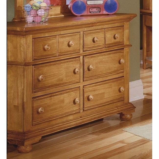 Cottage Traditions Double Dresser (Sandstone)