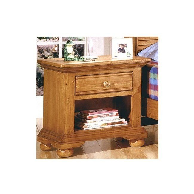 Cottage Traditions Small Nightstand (Sandstone)
