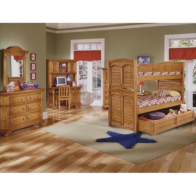 Cottage Traditions Youth Bunk Bedroom Set (Sandstone)