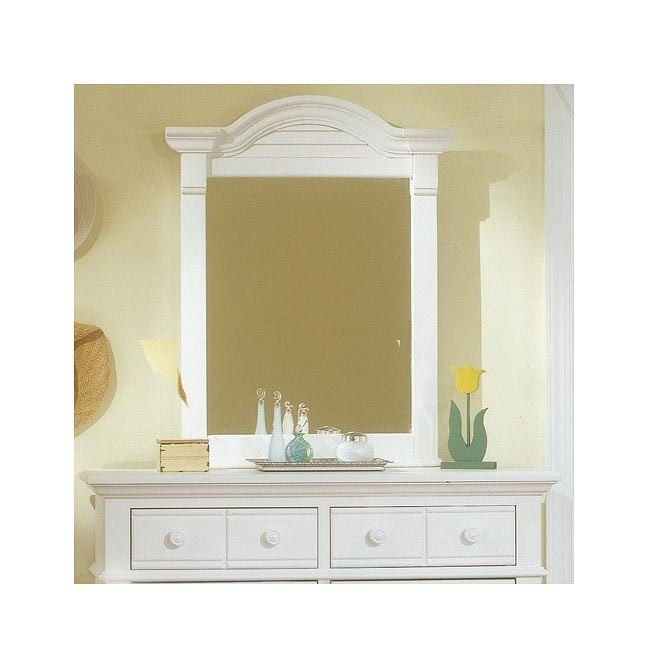 Cottage Traditions Vertical Mirror (White)