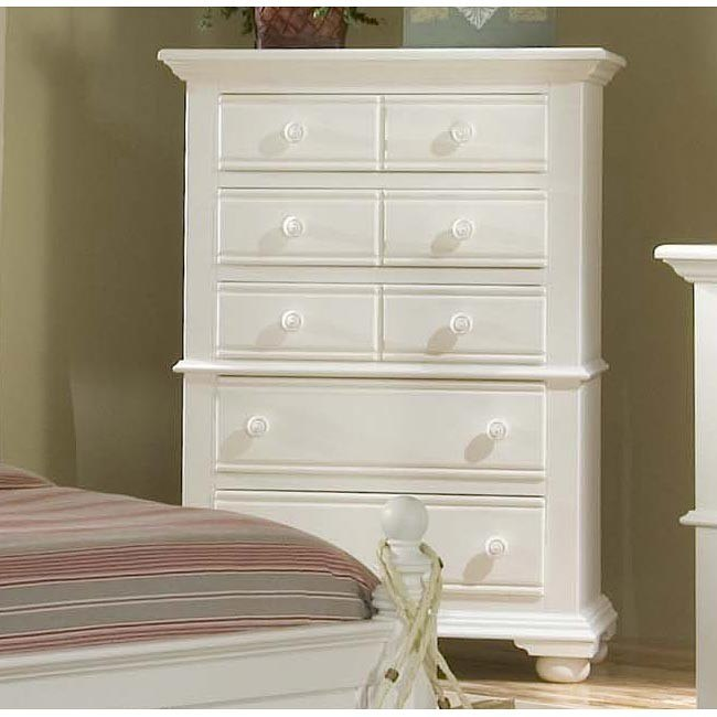 Cottage Traditions 5 Drawer Chest (White)