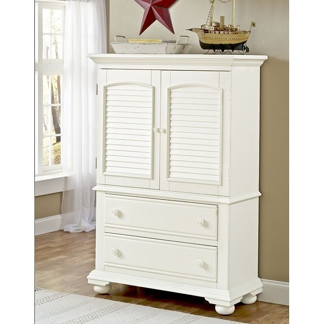 Cottage Traditions Door Chest (White)