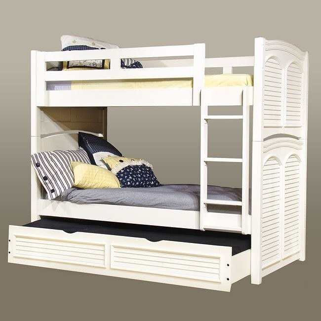 Cottage Traditions Youth Bunk Bed (White)