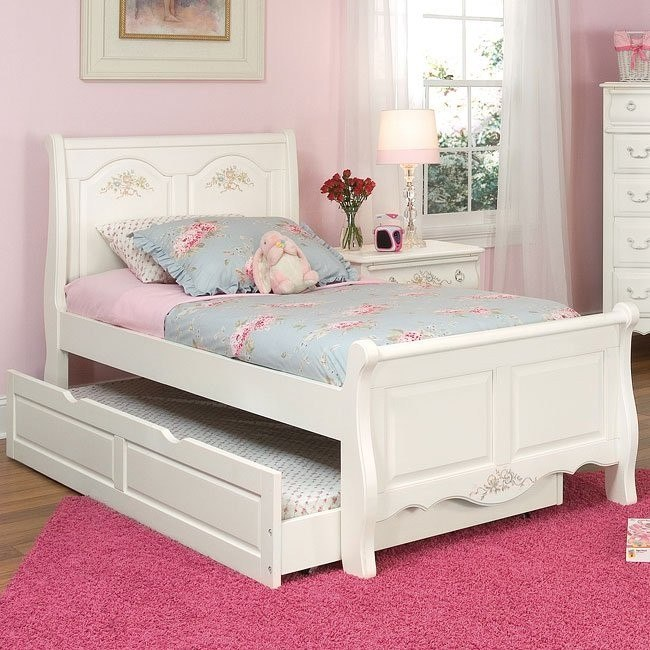Summerset Trundle Sleigh Bed