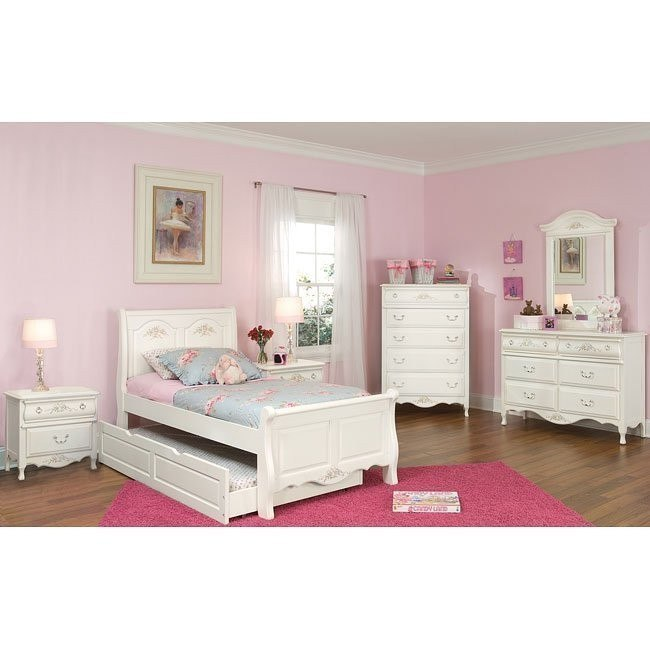 Summerset Trundle Sleigh Bedroom Set