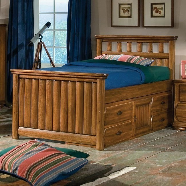 Timberline Captains Bed