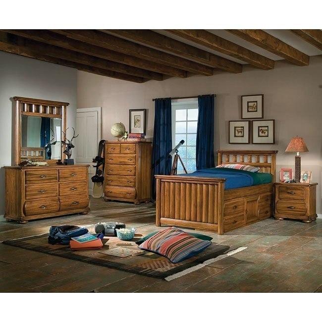 Timberline Captains Bedroom Set