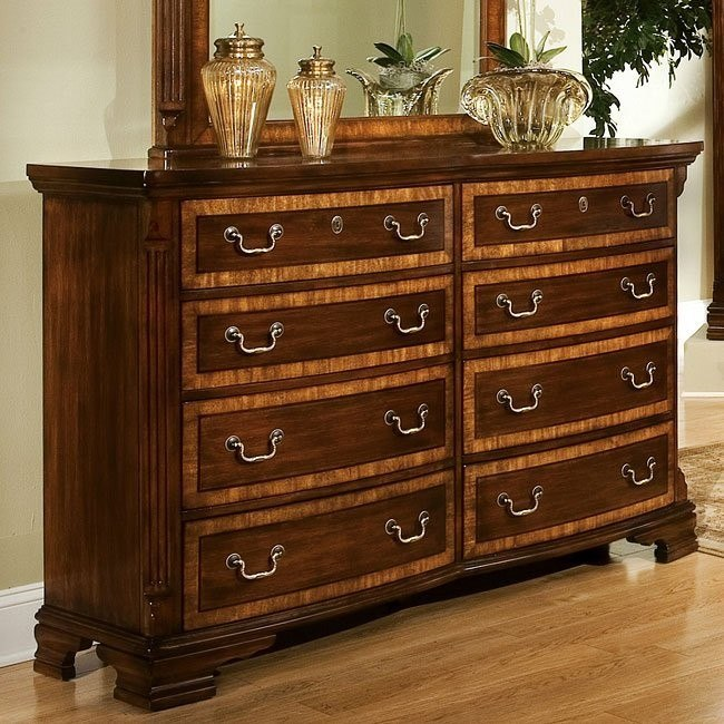 Wellington Manor Triple Dresser