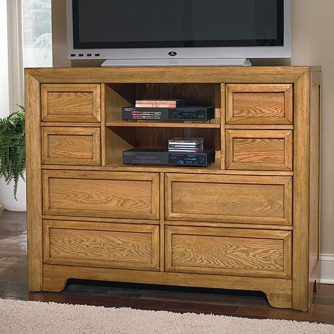 Casual Home Entertainment Dresser