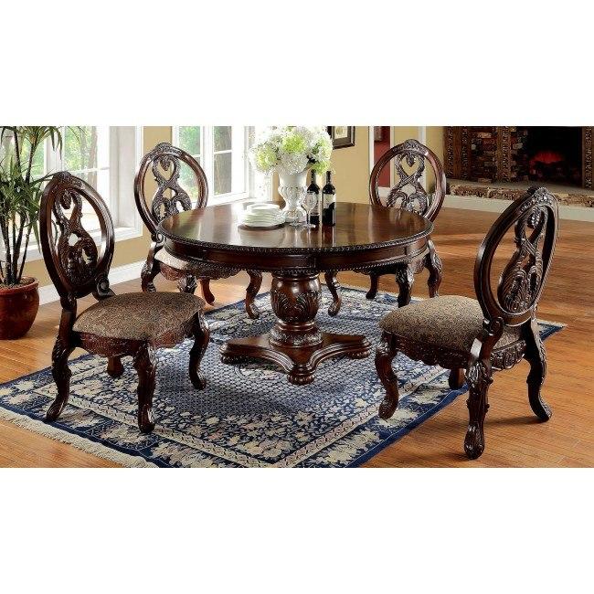 Tuscany I Round Dining Room Set Furniture Of America