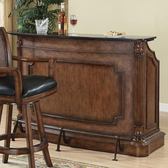 Clarendon Bar with Marble Top