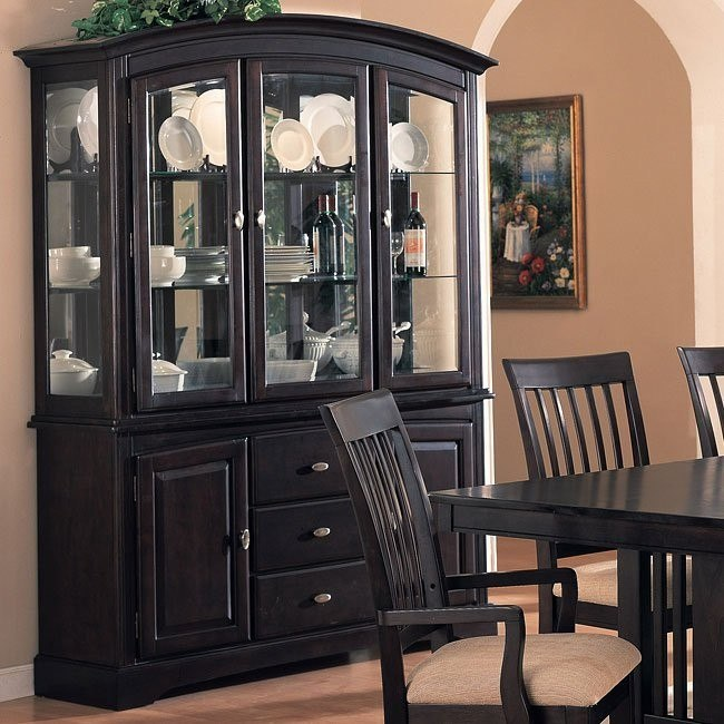 Monaco Buffet With Hutch By Coaster Furniture