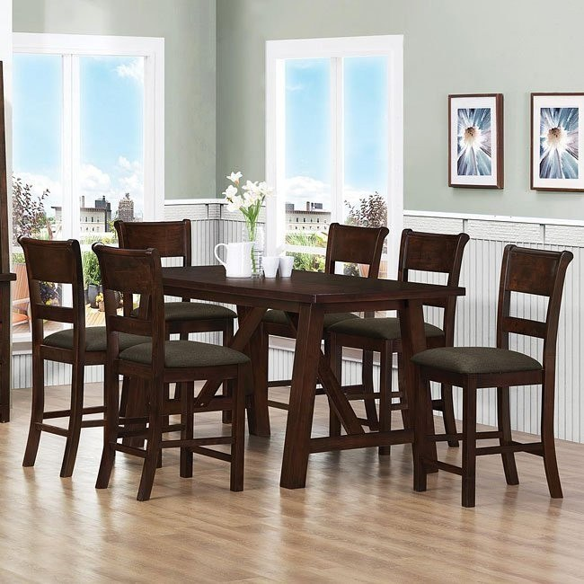 Julius Counter Height Dining Room Set