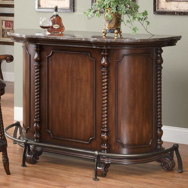 Traditional Bar Unit in Cherry
