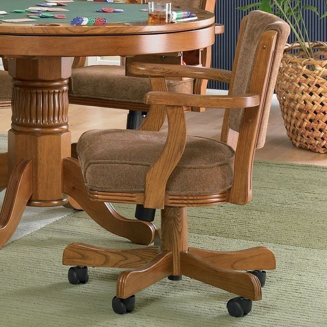 Mitchell Game Chair (Oak)