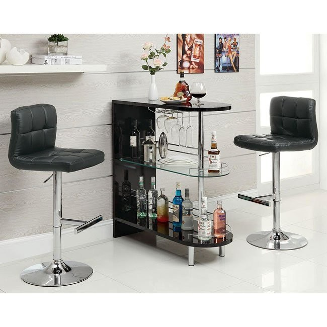 10106 Series Home Bar Set (Black)