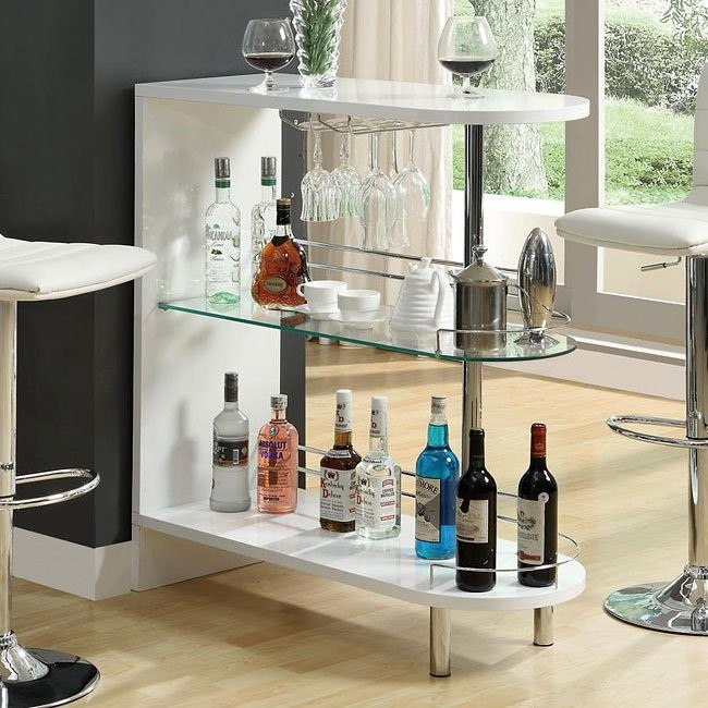 10106 Series Modern Bar Table (White)