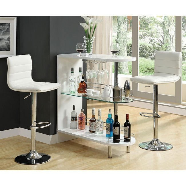10106 Series Home Bar Set (White)