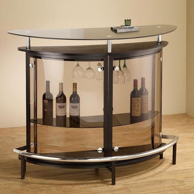 Contemporary Bar Unit (Cappuccino)