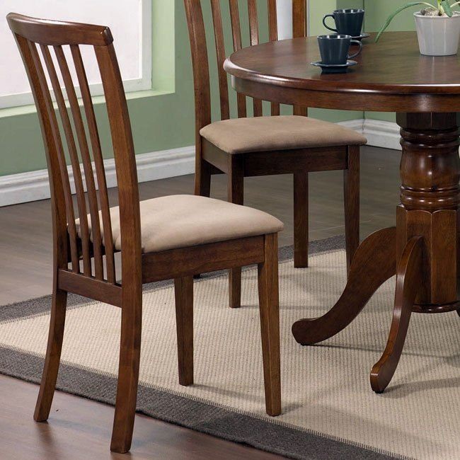 Brannan Dining Chair (Maple) (Set of 2)