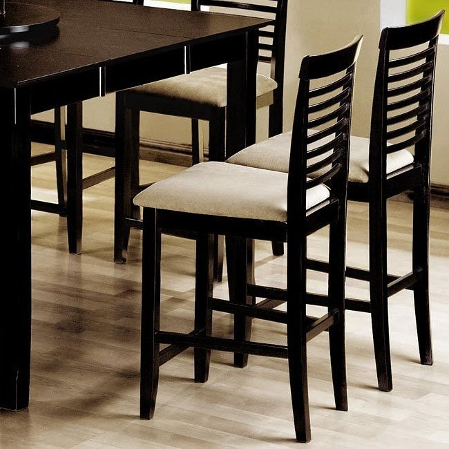 Awe Inspiring Geneva Ladder Back 24 Inch Barstool Set Of 2 Uwap Interior Chair Design Uwaporg