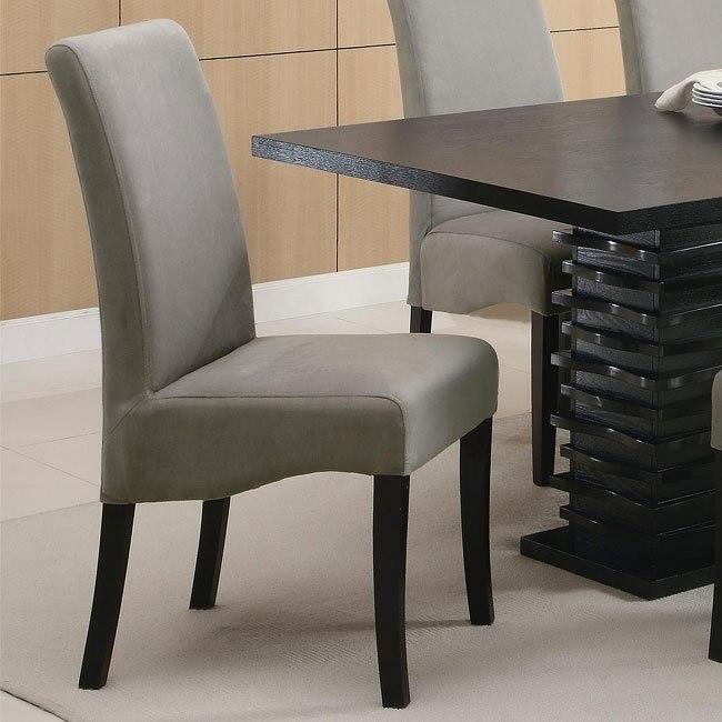 Stanton Dining Chair (Gray) (Set of 2)