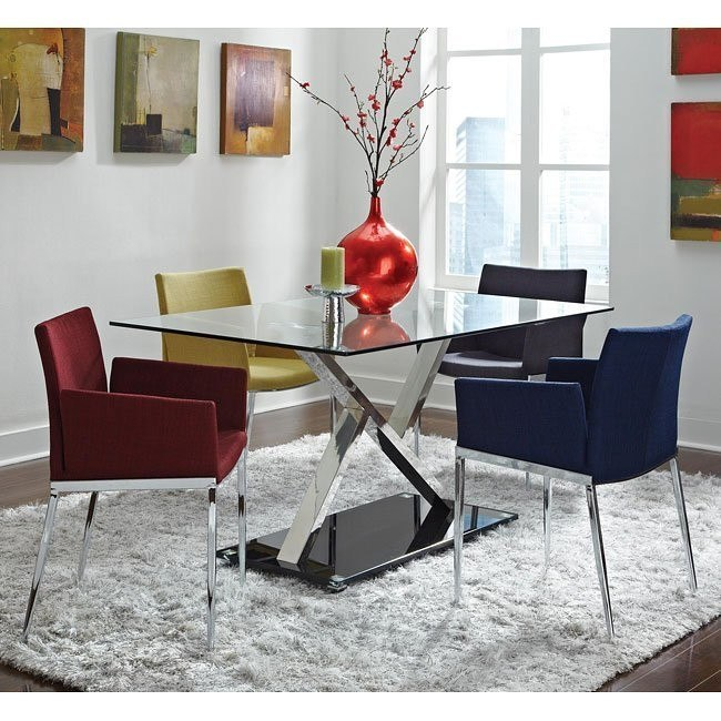 Modern Dining Room Set w/ Chair Choices