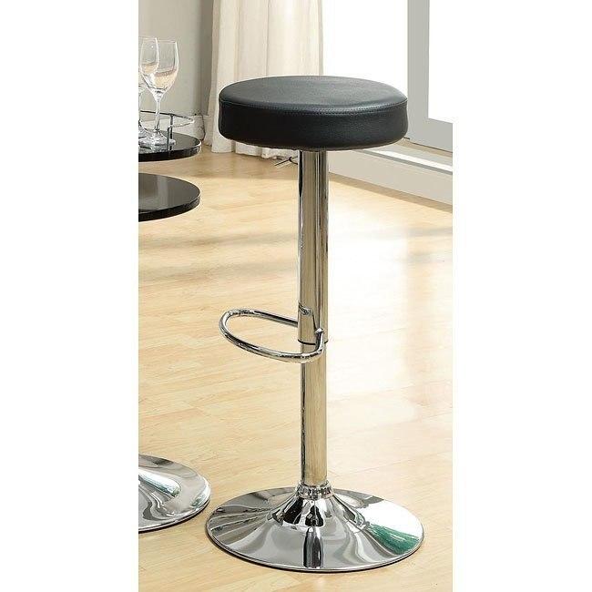 Adjustable Barstool (Black)