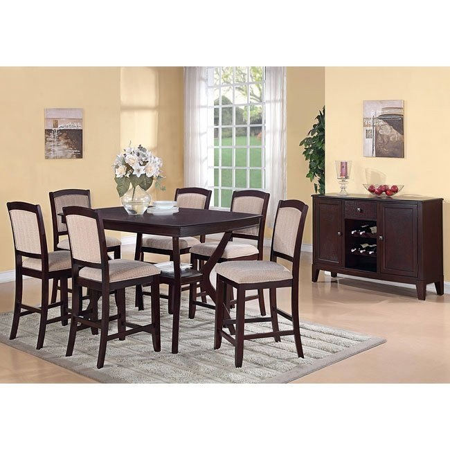 Memphis Counter Height Dining Room Set