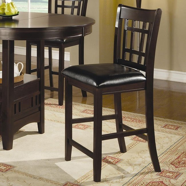 Lavon 24 Inch Barstool Cappuccino Set Of 2 By Coaster Furniture