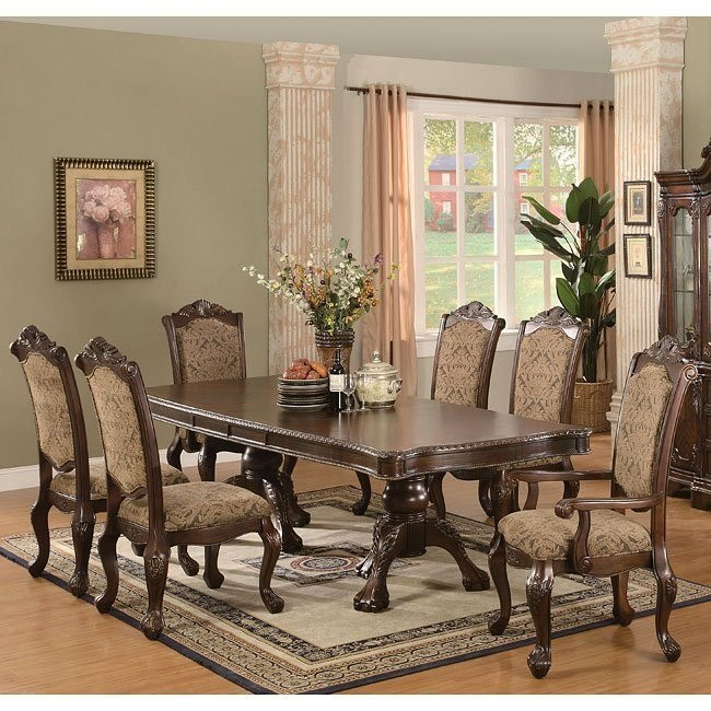 Simple And Formal Dining Room Sets: Andrea Formal Dining Room Set By Coaster Furniture, 2