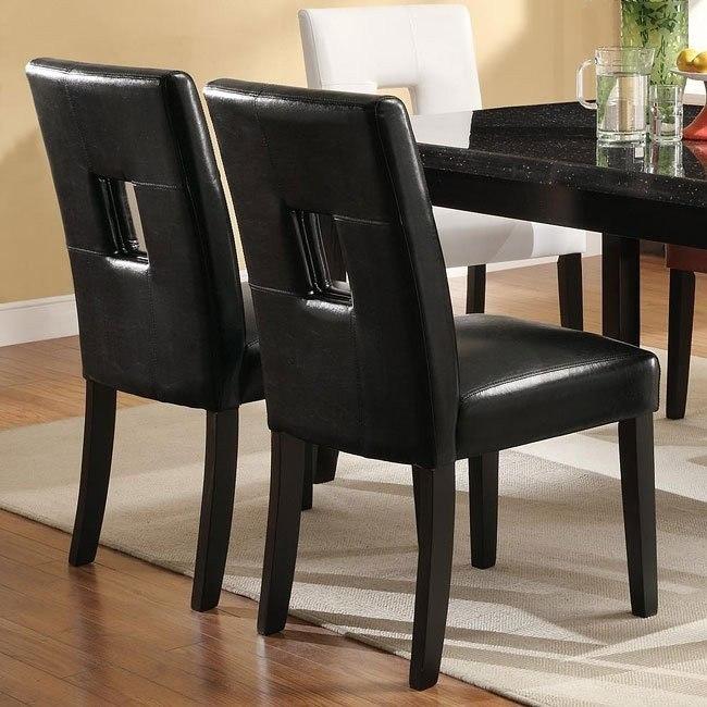Newbridge Dining Chair (Black) (Set of 2)