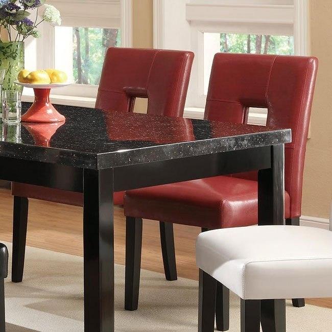 Newbridge Dining Chair (Red) (Set of 2)