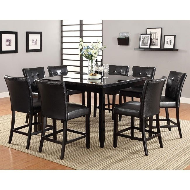 Newbridge Counter Height Dining Room Set w/ Anisa Stools