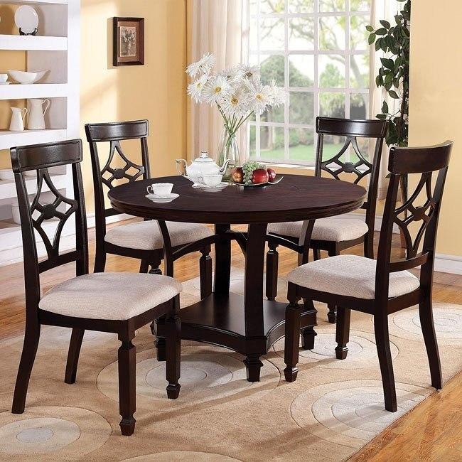 Maude Round Dining Room Set