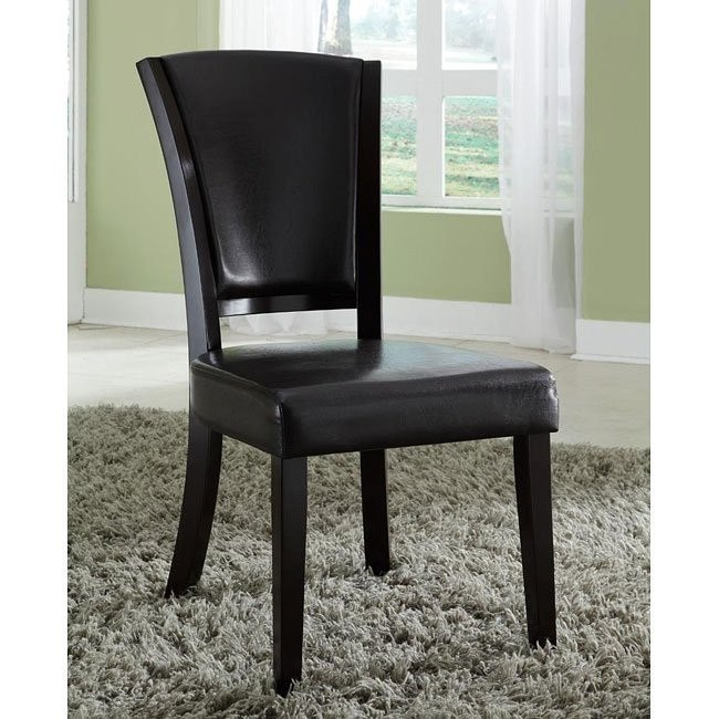 10368 Series Side Chair (Brown) (Set of 2)
