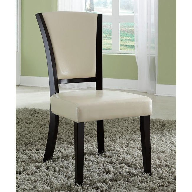 10368 Series Side Chair (Ivory) (Set of 2)