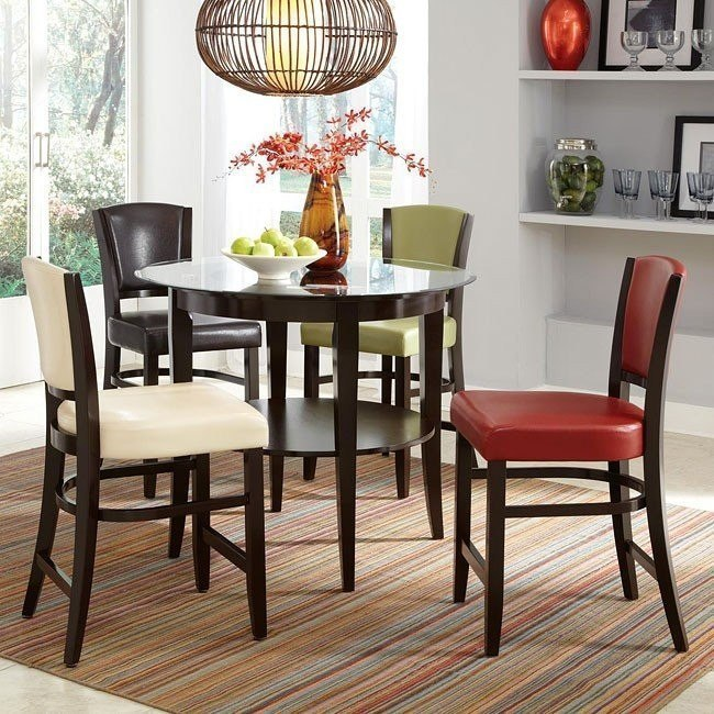 10368 Series Counter Height Dining Set w/ Chair Choices