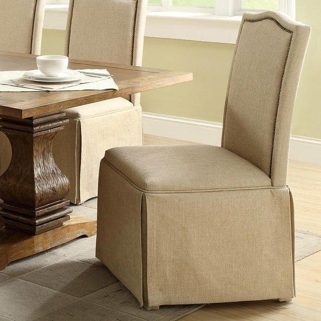Parkins Parson Chair w/ Skirt (Set of 2)
