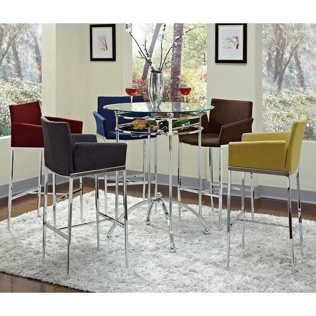 Modern Bar Table Set w/ Barstool Choices