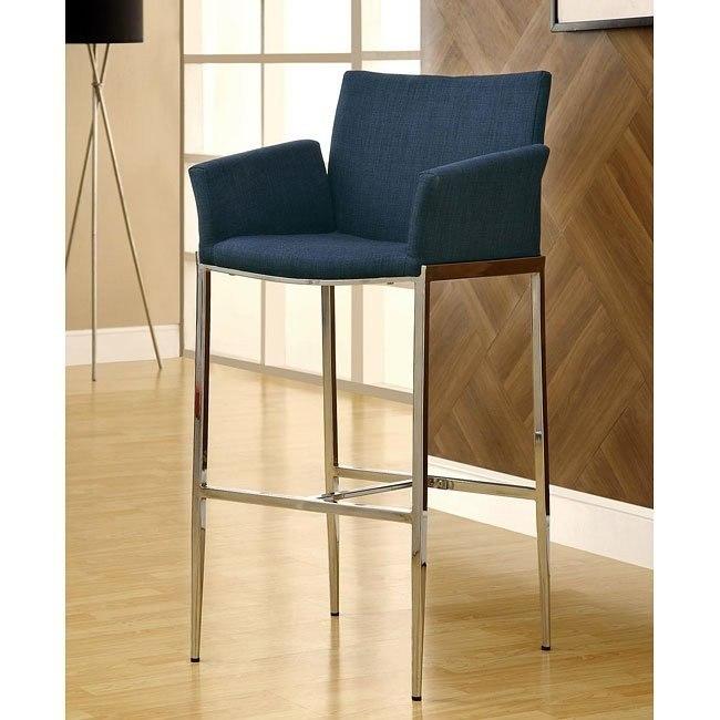 Modern Barstool (Blue) (Set of 2)