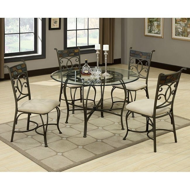 12083 Series Metal Dining Room Set