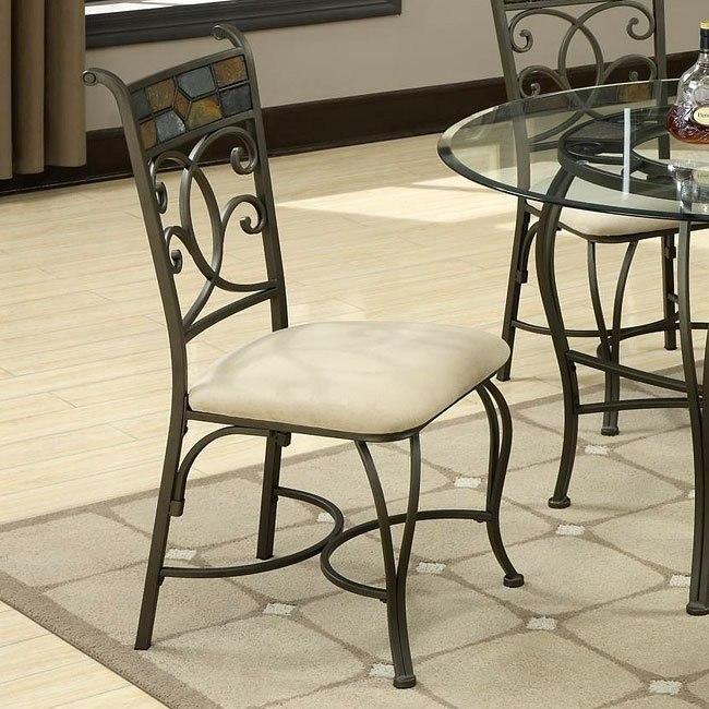 12083 Series Metal Side Chair (Set of 2)