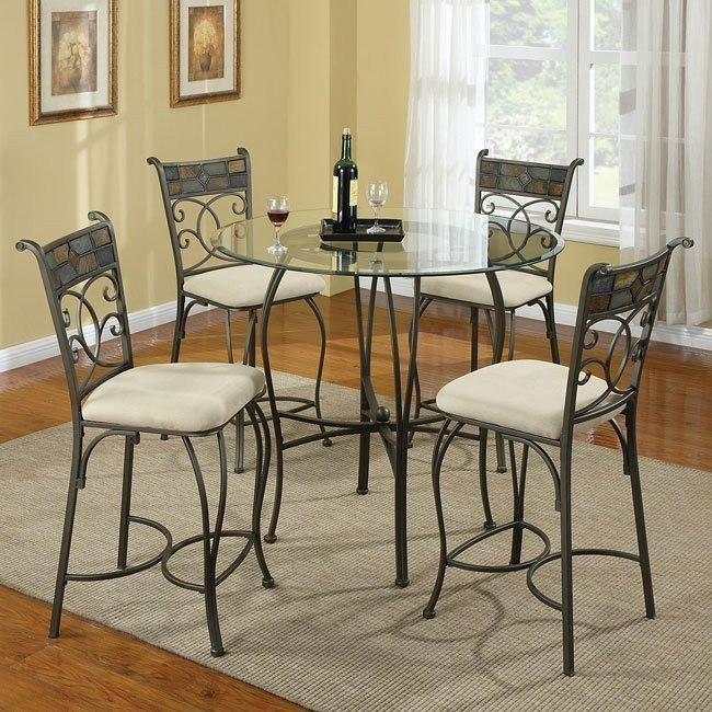 12083 Series Counter Height Dining Room Set