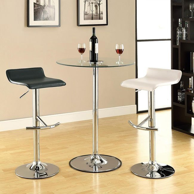 LED Bar Table Set w/ 36 inch Table