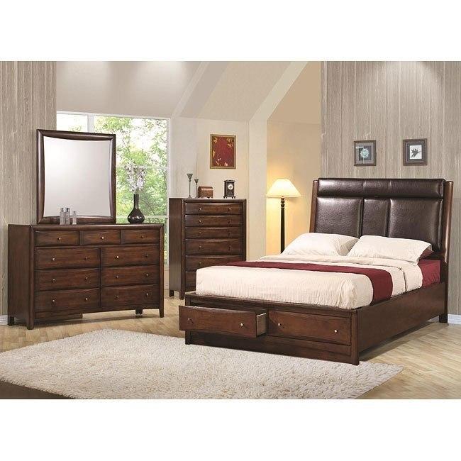 Hillary and Scottsdale Storage Bedroom Set