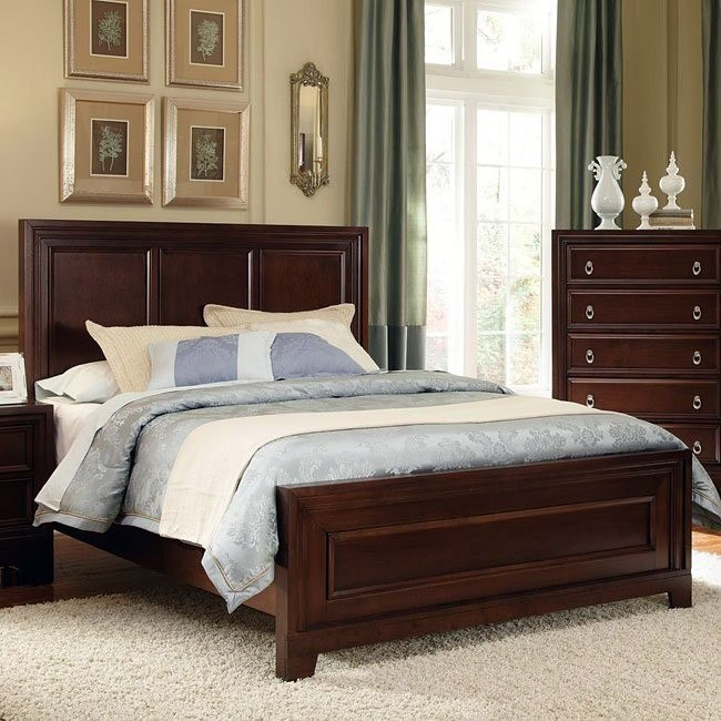 Nortin Panel Bed